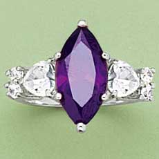 Beauty Boutique - Posh Purple Ring :  purple ring posh