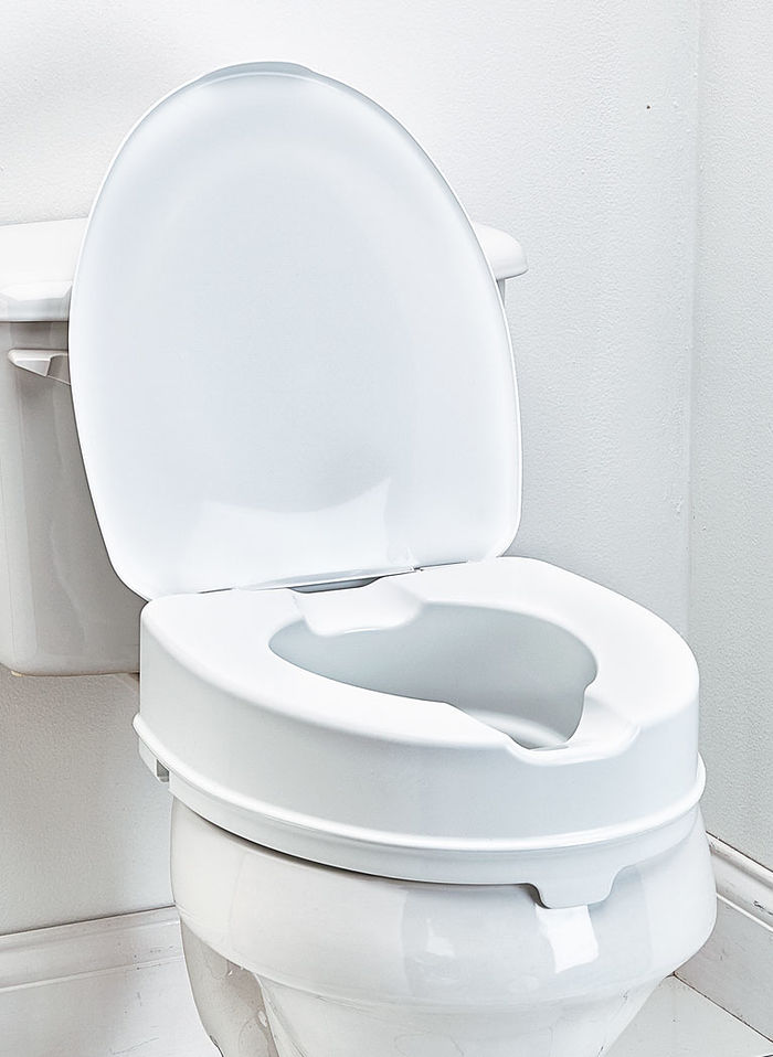 Toilet Seat Riser With Lid Beauty Boutique