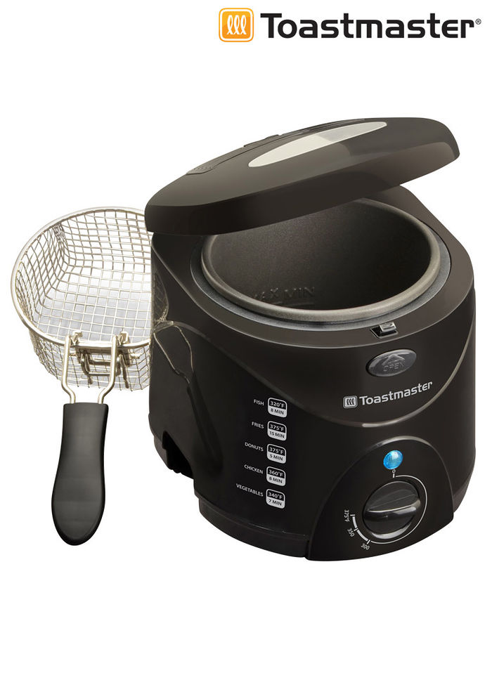 Toastmaster 1 5 qt deep fryer beauty boutique online Toastmaster cool touch exterior deep fryer