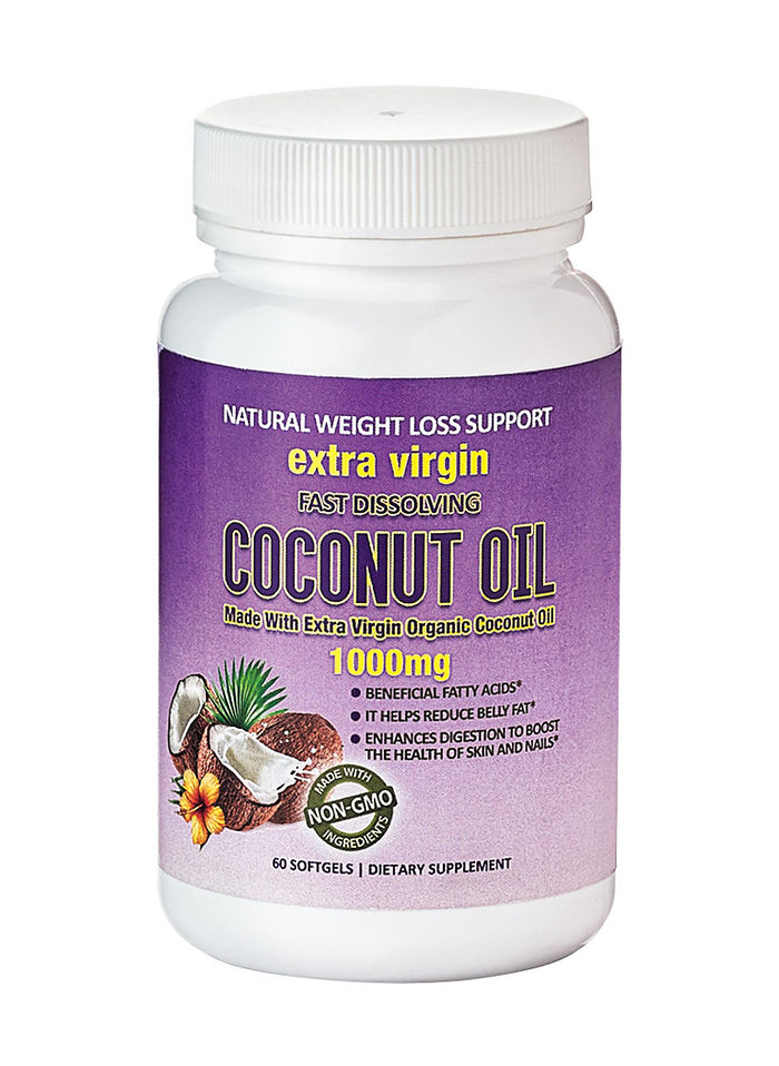 Extra virgin coconut oil for weight loss