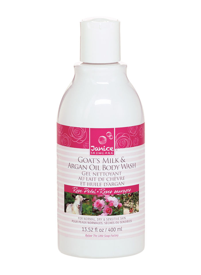 Goat's Milk & Argan Oil Body Wash