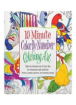Product Review Color-by-Numbers Coloring Books