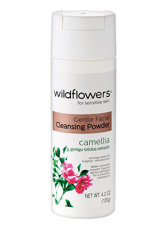 Main Wildflowers® Gentle Facial Cleansing Powder