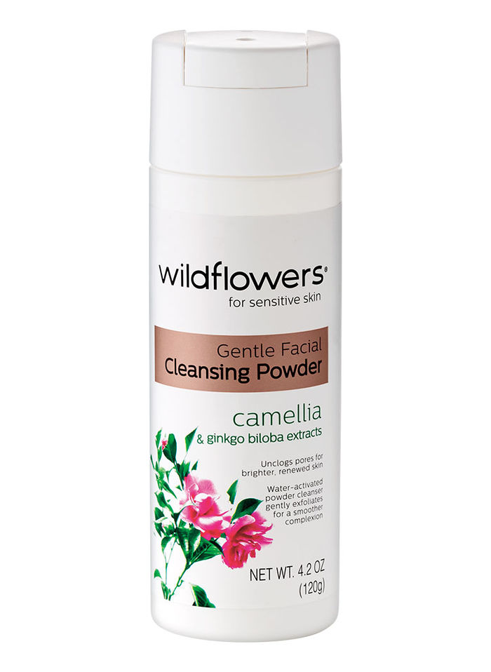 Wildflowers® Gentle Facial Cleansing Powder