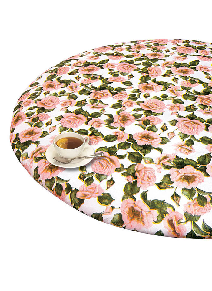 Round Elasticized Tablecloth Beauty Boutique