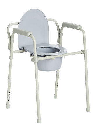 Main Deluxe Folding Commode