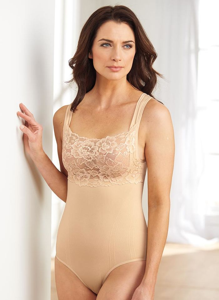 Lace Cami Body Briefer