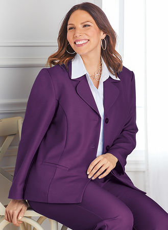 Main Alfred Dunner Classic Blazer