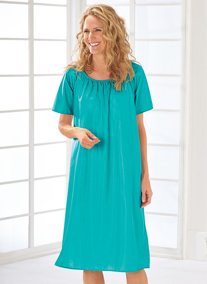 Silky Nightgown Two-Pack