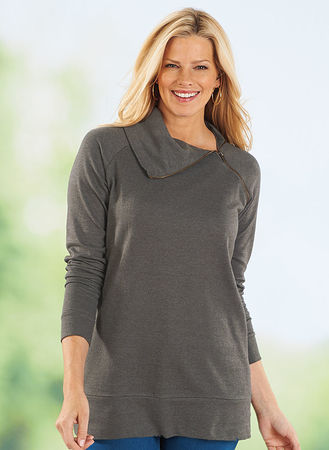 Main Zippered Sweatshirt