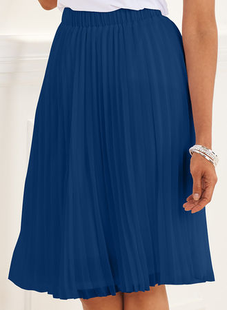 Main Pleated Georgette Skirt