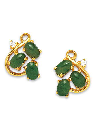 Main Genuine Jade Earrings