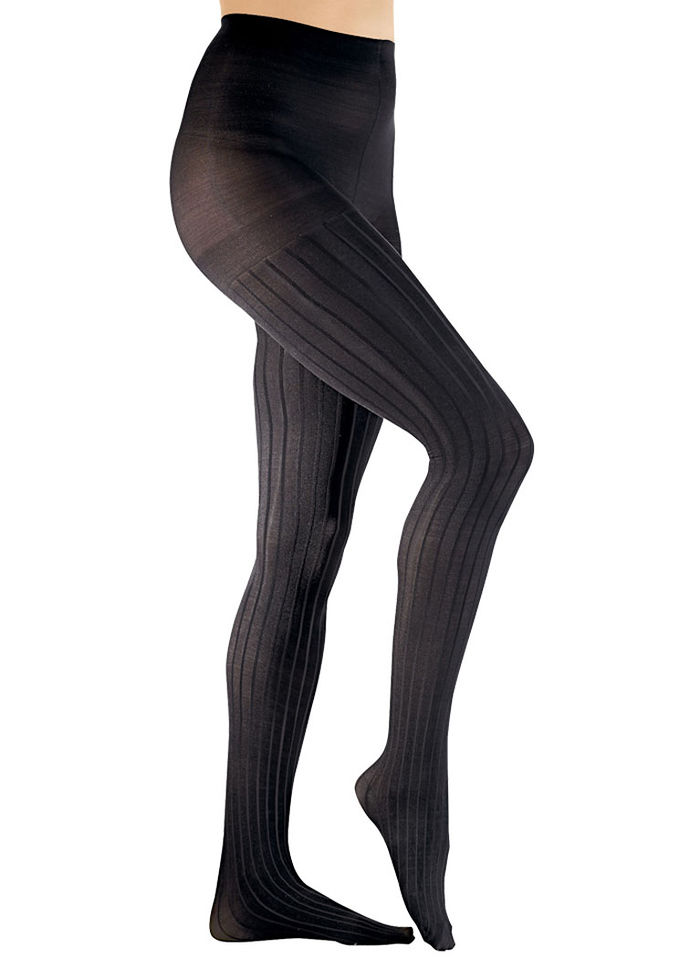 Textured Compression Pantyhose