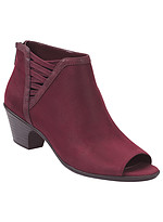 Product Review Easy Street� Paris Peep-Toe Ankle Bootie