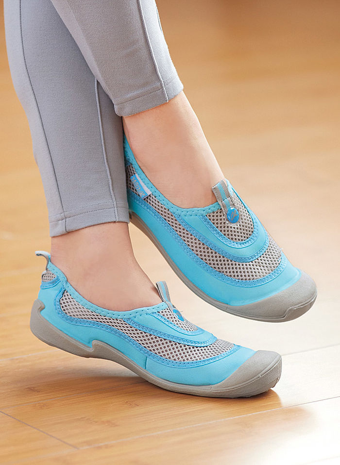 Breathable Mesh Slip-Ons - Womens