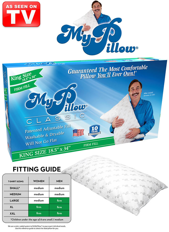 My Pillow® King Size Firm