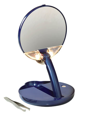 Main 15X Lighted Compact Mirror Mate™