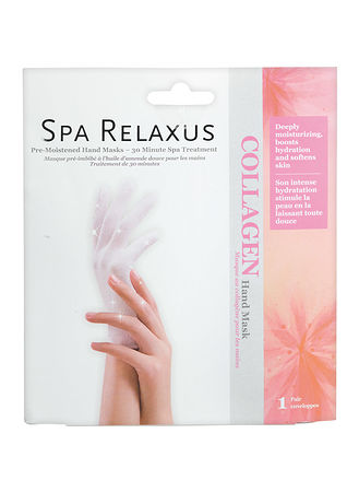 Main Spa Relaxus Pre-Moistened Hand Mask Collagen