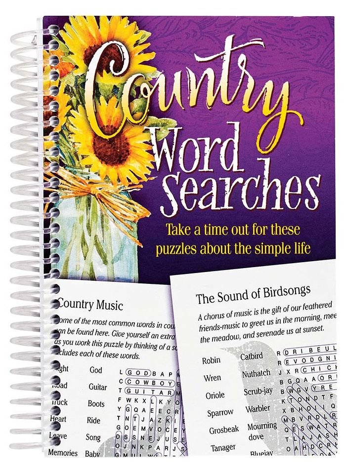 Country Word Searches