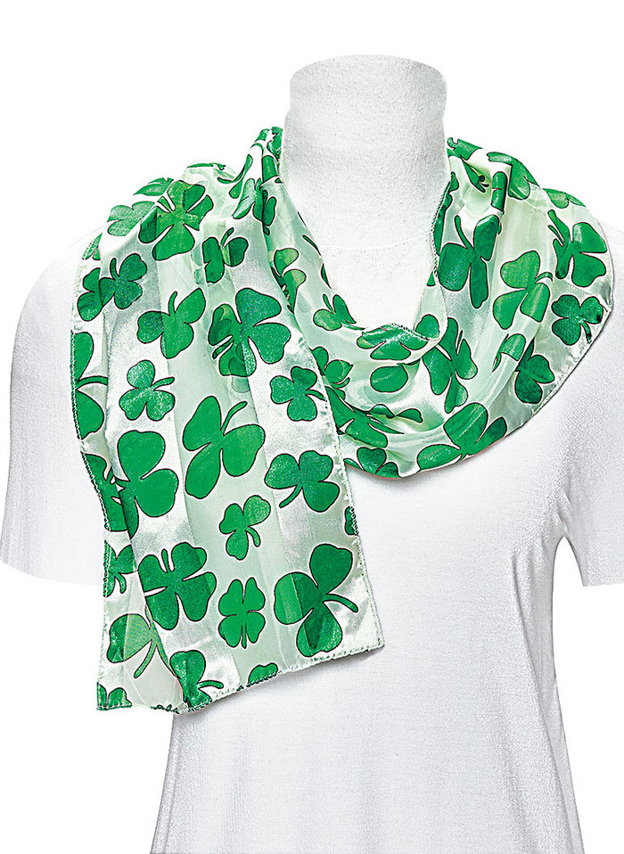 Festive Irish Scarf