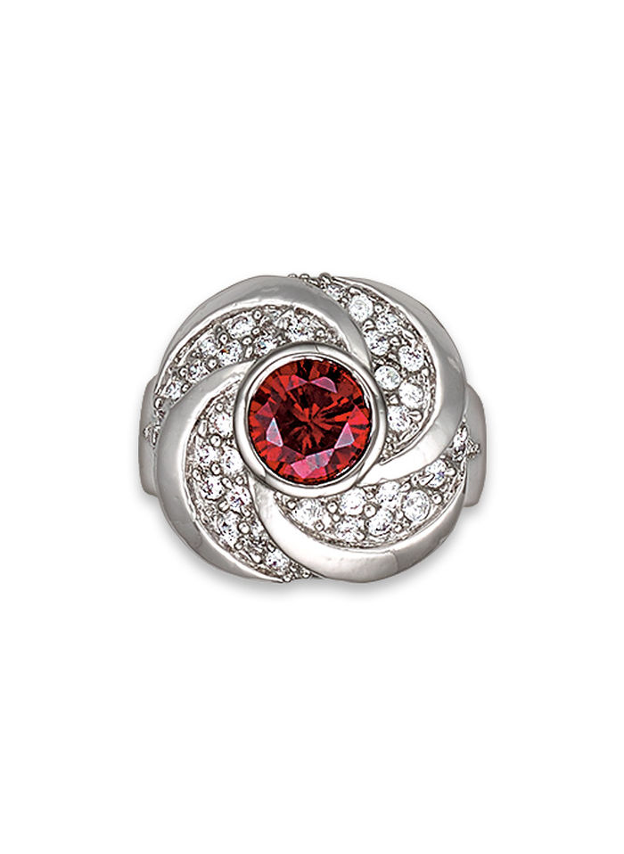 Scarlet Shine Ring