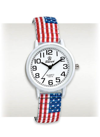 Main Star-Spangled Banner Stretch Watch