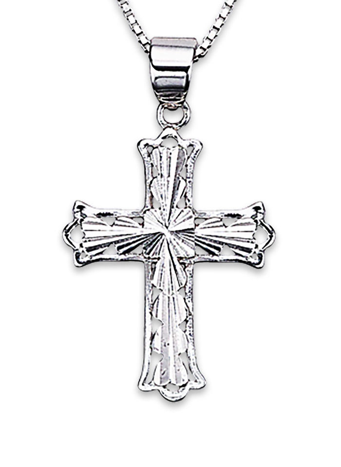 Faithful Cross Pendant