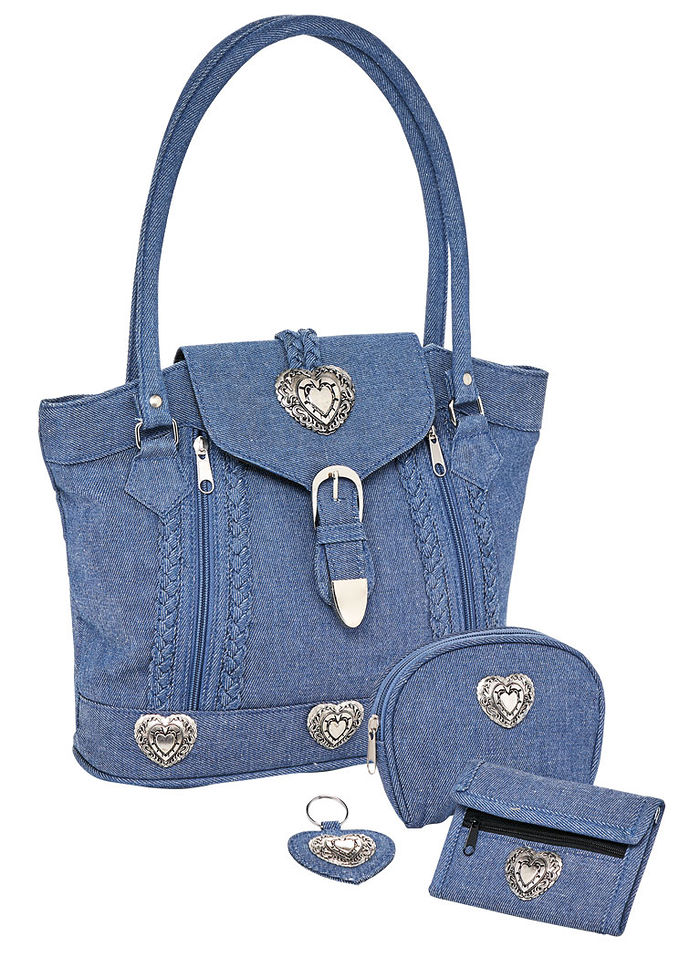The Perfect Denim Handbag