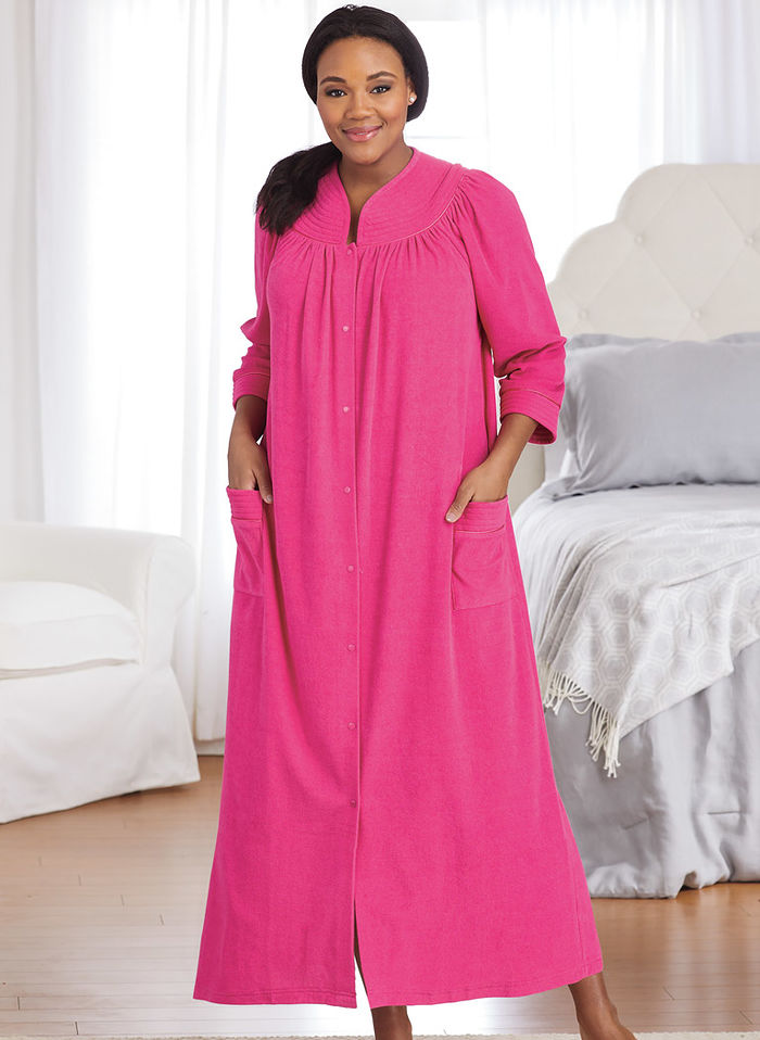 Terry Knit Long Robe