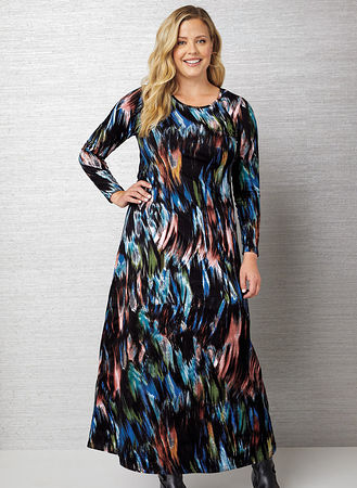 Main Long Sleeve Maxi