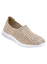 Product Review Tori Stretchy Woven Slip-on Shoe