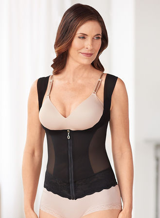 Main Zippered Slimming Vest