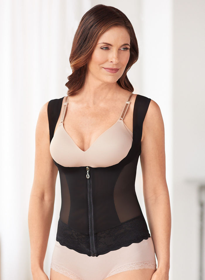 Zippered Slimming Vest