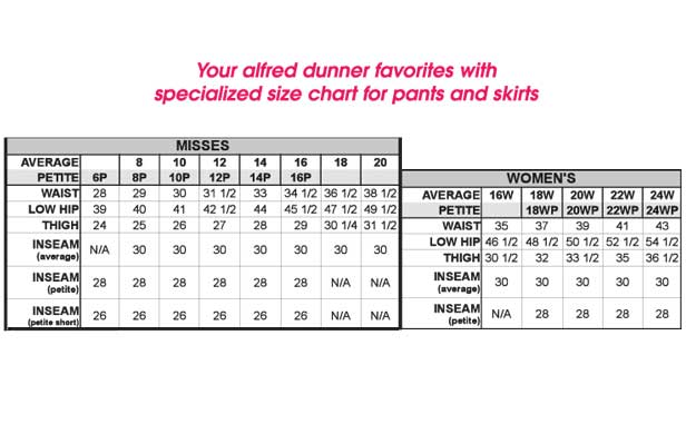 Alfred dunner pants beauty boutique online catalog shopping for