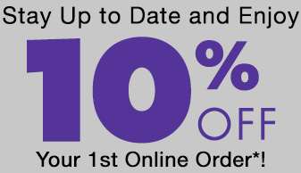 10% Discount when you register